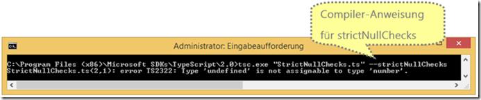 TypeScript strictNullChecks