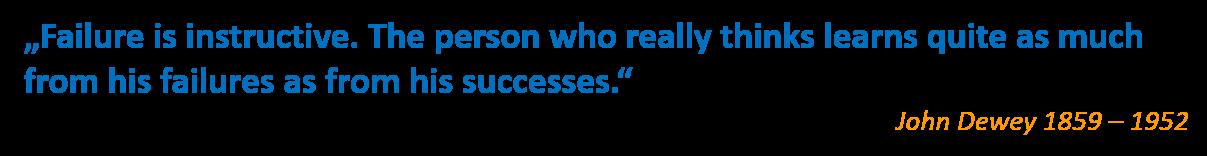 John Dewey Zitat