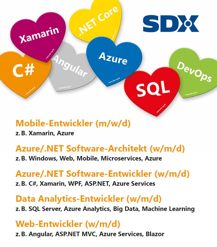 SDX Stellenanzeigen