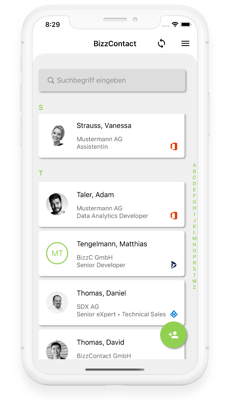 BizzContact App